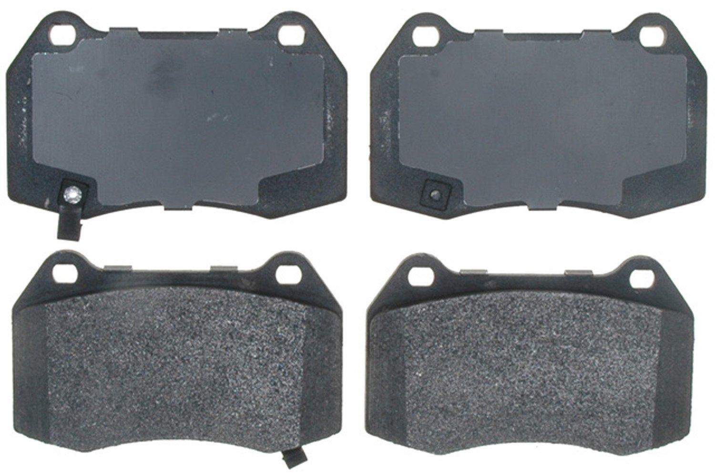 ACDelco 17D960M Professional Semi-Metallic Front Disc Brake Pad Set