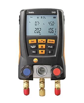 Testo 549 - Colector para sistema de refrigeración