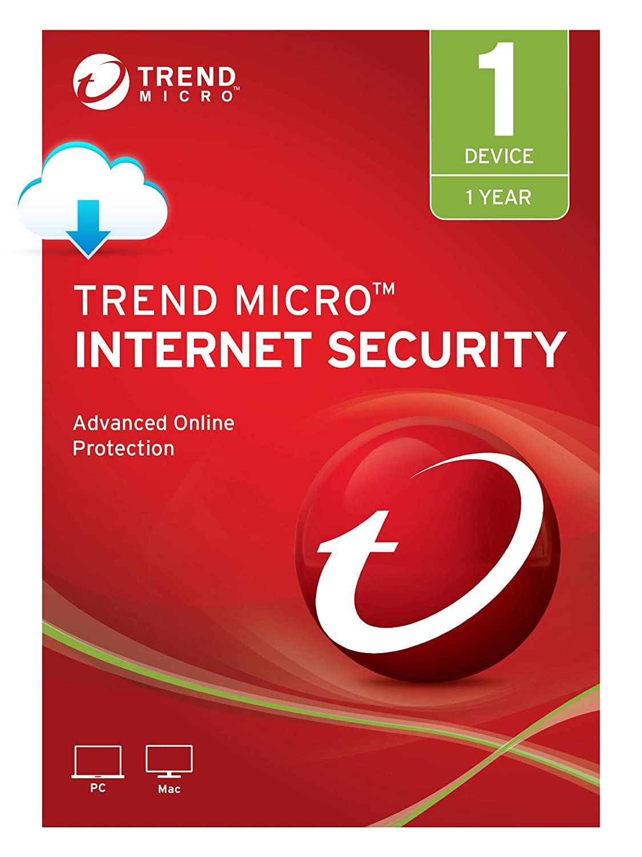 Amazon com: Trend Micro Internet Security, 1 User [Digital