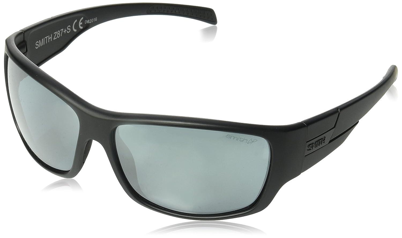 16840245e3 Smith Optics Elite Frontman Sunglass with Black Frame and Chromapop Polar  Platinum Mirror Lenses  Amazon.ca  Sports   Outdoors