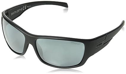 e5ee2399f46 Smith Optics Elite Frontman Sunglass with Black Frame and Chromapop Polar  Platinum Mirror Lenses