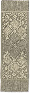 """product image for Heritage Lace Chantilly Table Runner, 48""""x14"""", Gold"""