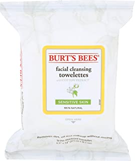 product image for Burt's Bees, Towelettes Face Cleansing Sensitive, 30 Count