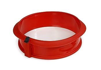 Lekue 2412323R01M017 Red Springform Pan