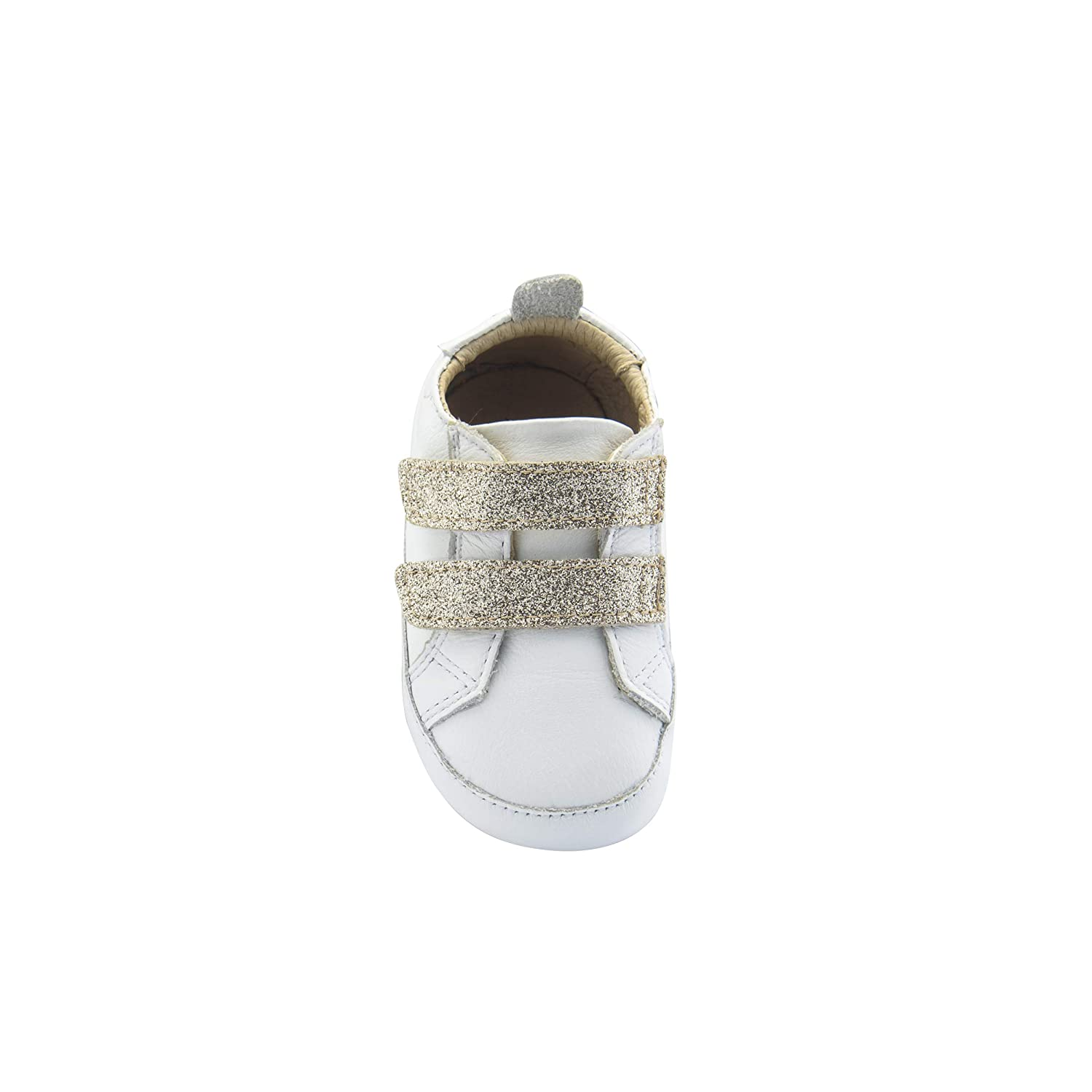 Infant//Toddler Snow//Glam Cream Old Soles Baby Girls//Boys Bambini Glam