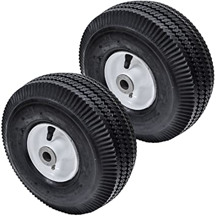 Replaces Toro 2PK Flat Free Front Wheel Tire for Toro Time Cutter Z  4 10/3 50-4 105-3471