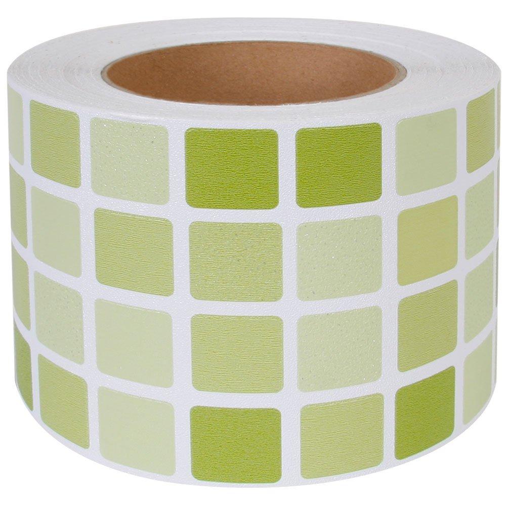 幅広マスキングテープ 【幅9.5cm×30m単位】壁紙シール インテリア 壁紙用 シール タイル キッチン [グリーン] モザイクタイル はがせる リメイクシート アクセントクロス ウォールステッカー DIY 壁紙 シール クロス カッティングシート 風呂 トイレ 洗面台 かわいい B06VSL78W5 30m単位|グリーン グリーン 30m単位