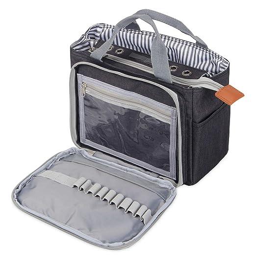 Luxja Häkeln Einkaufstasche Tragbare Garn Aufbewahrungstasche Für
