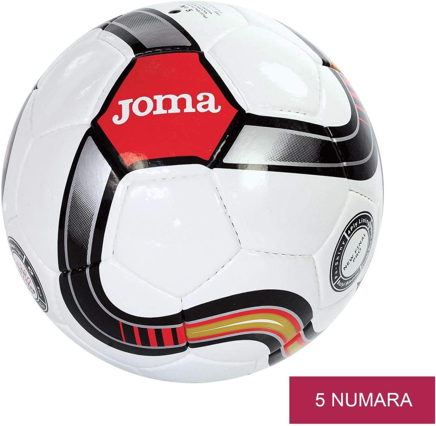 Joma - Balon Flame t5 Blanco-Rojo Pack 12: Amazon.es: Deportes y ...