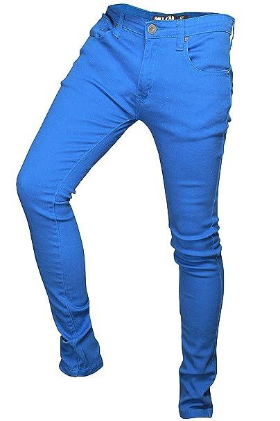 Soulstar MP Deo Da Uomo Designer Colorati Jeans Denim Aderenti  Amazon.it   Abbigliamento 0bb2c1f9c81d