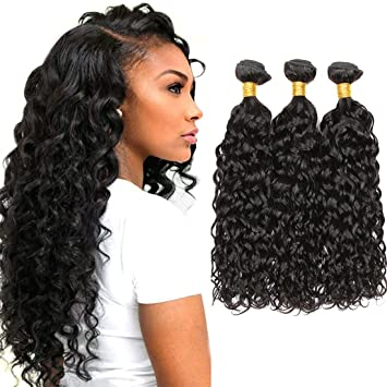 Dai Weier Brazilian Natural Hair Remy Water Wave Sew In
