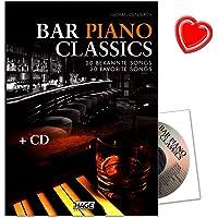 Bar Piano Classics–20famosos Canciones–Fácil hasta medio Arreglados–Ordenador libro