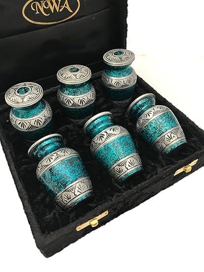 Amazon nwa funeral cremation keepsake urns set of 6 garden nwa funeral cremation keepsake urns set of 6 solutioingenieria Choice Image