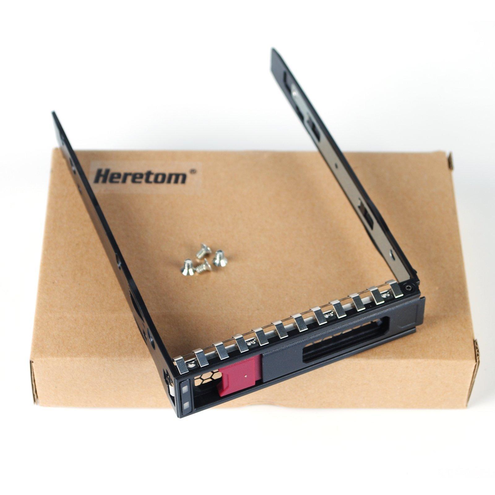 Heretom 3.5'' LFF SAS SATA Drive Tray Caddy Hot-Swap 774026-001 for HP Apollo 4200 4510 1650