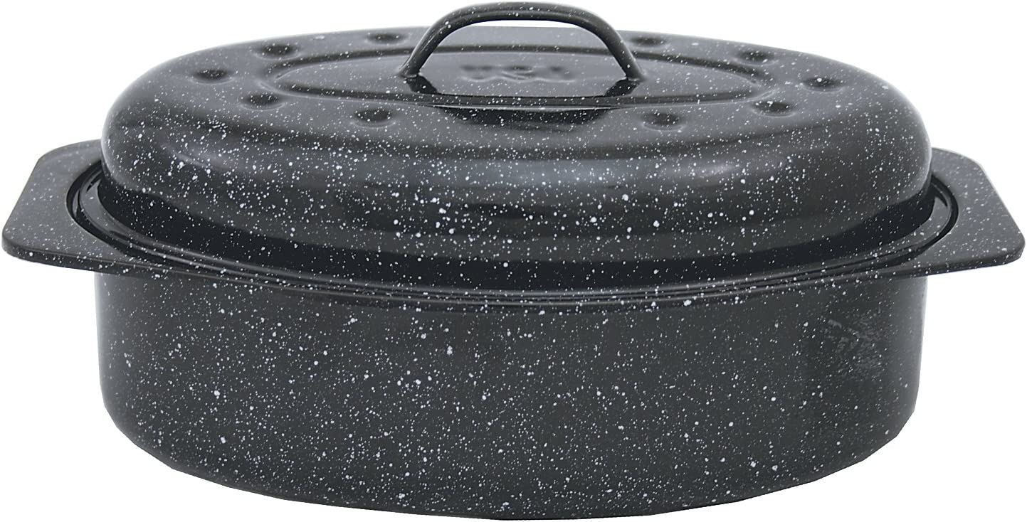 Graniteware 6106 - Asadora para Horno de Acero al Carbono (33 x 20 cm): Amazon.es: Hogar