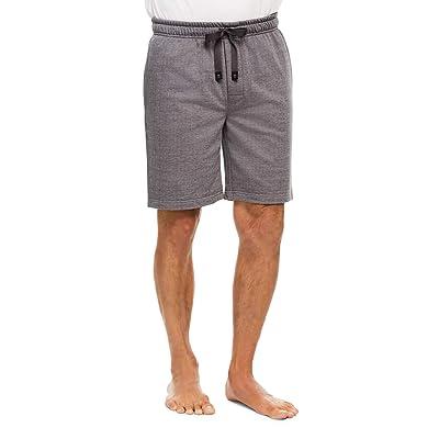 Haggar Men's Sleep Shorts - Comfortable Cotton Pajama Bottoms at Amazon Men's Clothing store