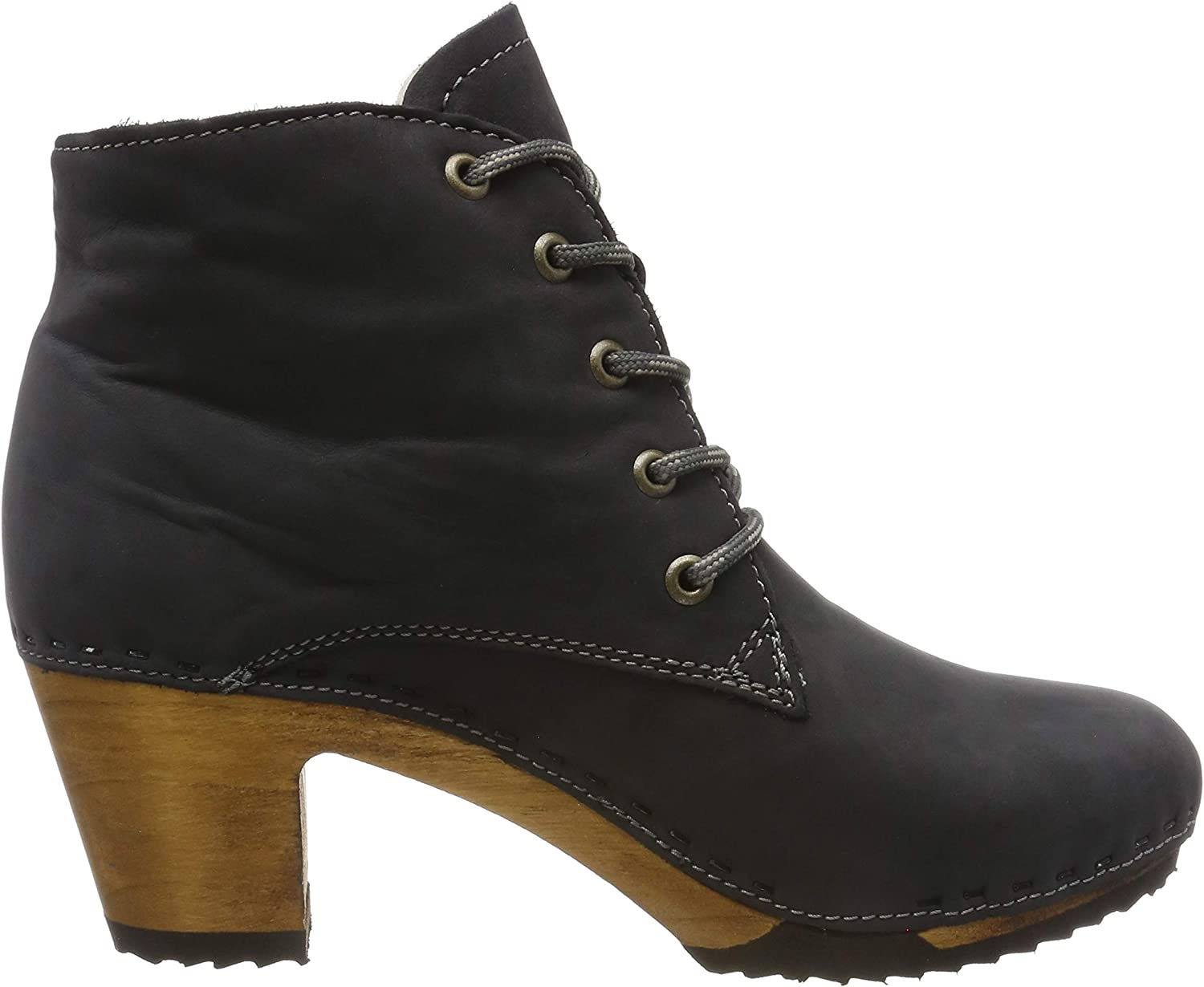 Woody Women's Anne Ankle Boots Grey Grigio 051