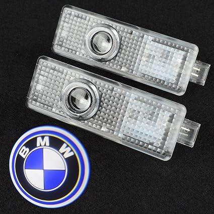 shinningway 2pcs LED para puerta de coche proyector luz cortesía ...