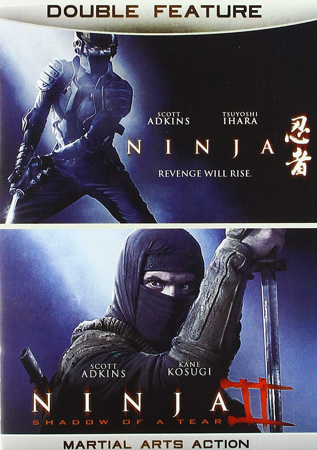 Amazon.com: Ninja Double Feature: Scott Adkins, Double ...