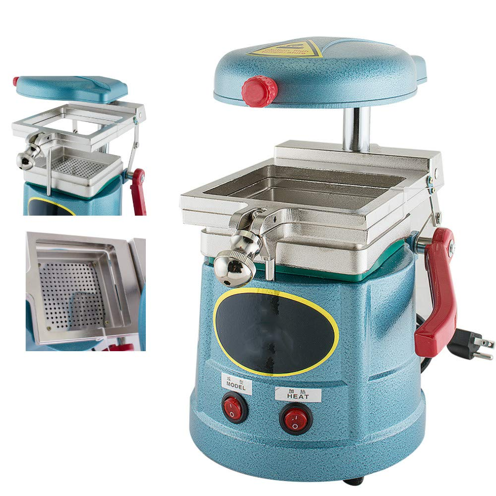 Enshey Dental Vacuum Former Forming Molding Machine Heat With Steel Balls Lab Equipment 110V 1000W for Lab Equipment Oral Care Products Shipping From USA