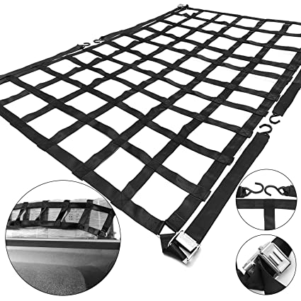 Amazon Com Mophorn Cargo Net 6 8x 4 1 Truck Bed Cargo Net With