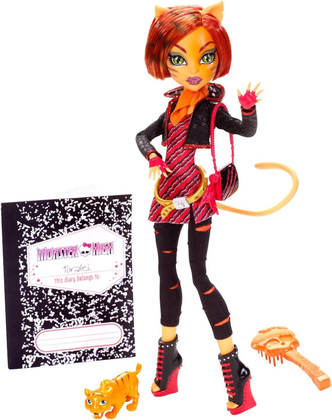 Amazon.es: Monster High Doll - Toralei: Juguetes y juegos
