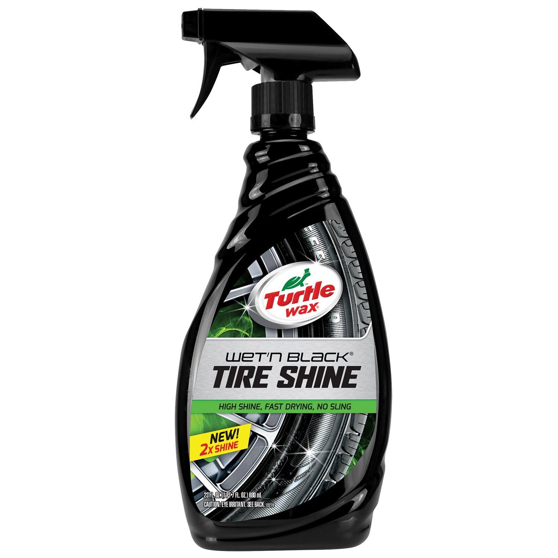 Turtle Wax T217RA Wet'n Black Ultra Wet Tire Shine - 23 oz.