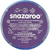 Snazaroo Face Paint 18ml color individual, Púrpura, M, 1