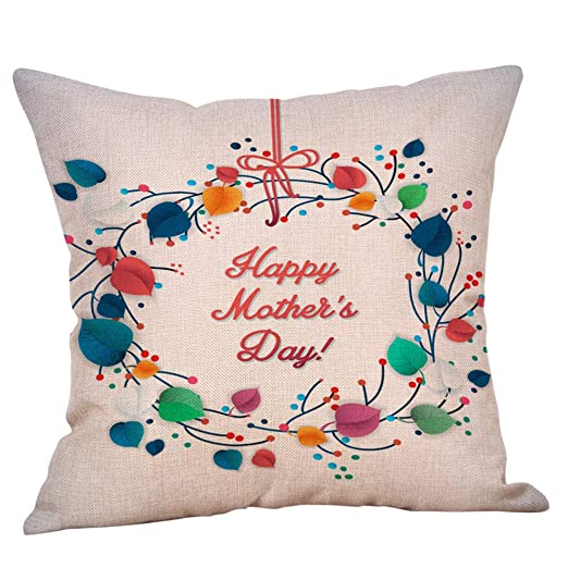 Funda de Almohada para el día de la Madre, diseño con Texto ...