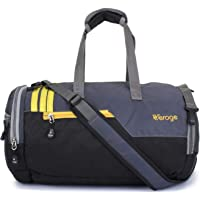 Verage Polyester 35 Litres Grey Boxer Duffle Bag with Shoes Compartment