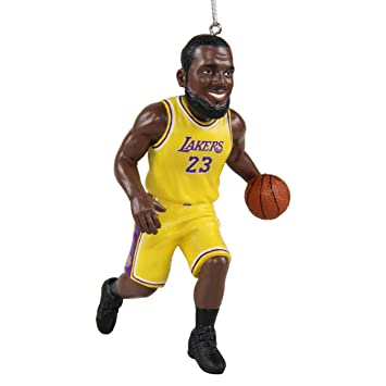 FOCO Lebron James LA Lakers Resin Player Christmas Ornament - Amazon.com : FOCO Lebron James LA Lakers Resin Player Christmas