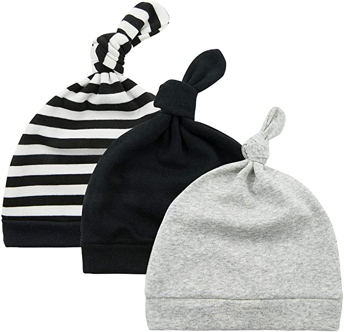 Boy Girl Baby Toddler Stripes Hat Infant Child Cotton Soft Cute Hats Cap Beanie