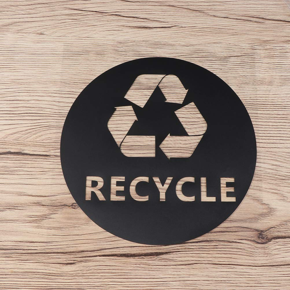Cabilock 4 Piezas Pegatinas de s/ímbolo de Reciclaje Autoadhesivas Etiquetas de Marca de Reciclaje de PVC calcoman/ías calcoman/ías para Basura papeleras papeleras Ventana Coche cami/ón