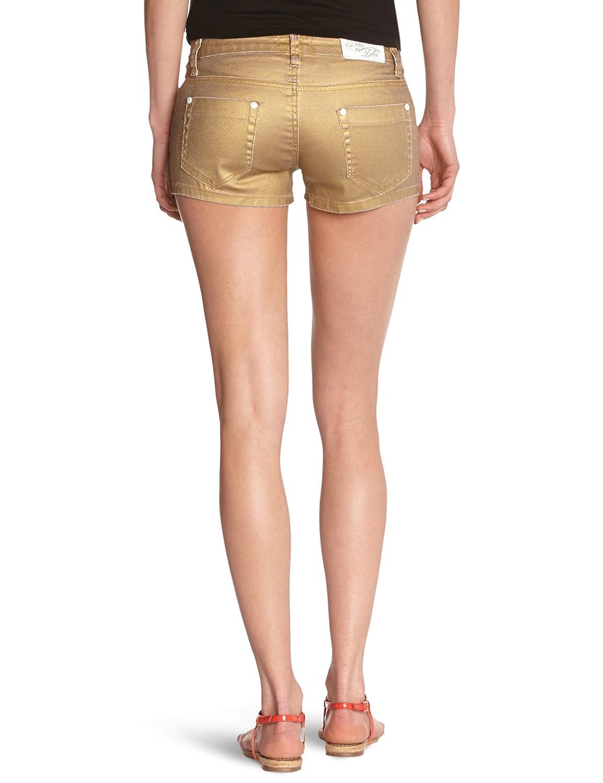 Deby Debo - Short - Femme - Doré - S  Amazon.fr  Vêtements et accessoires 03ad2ea1d51