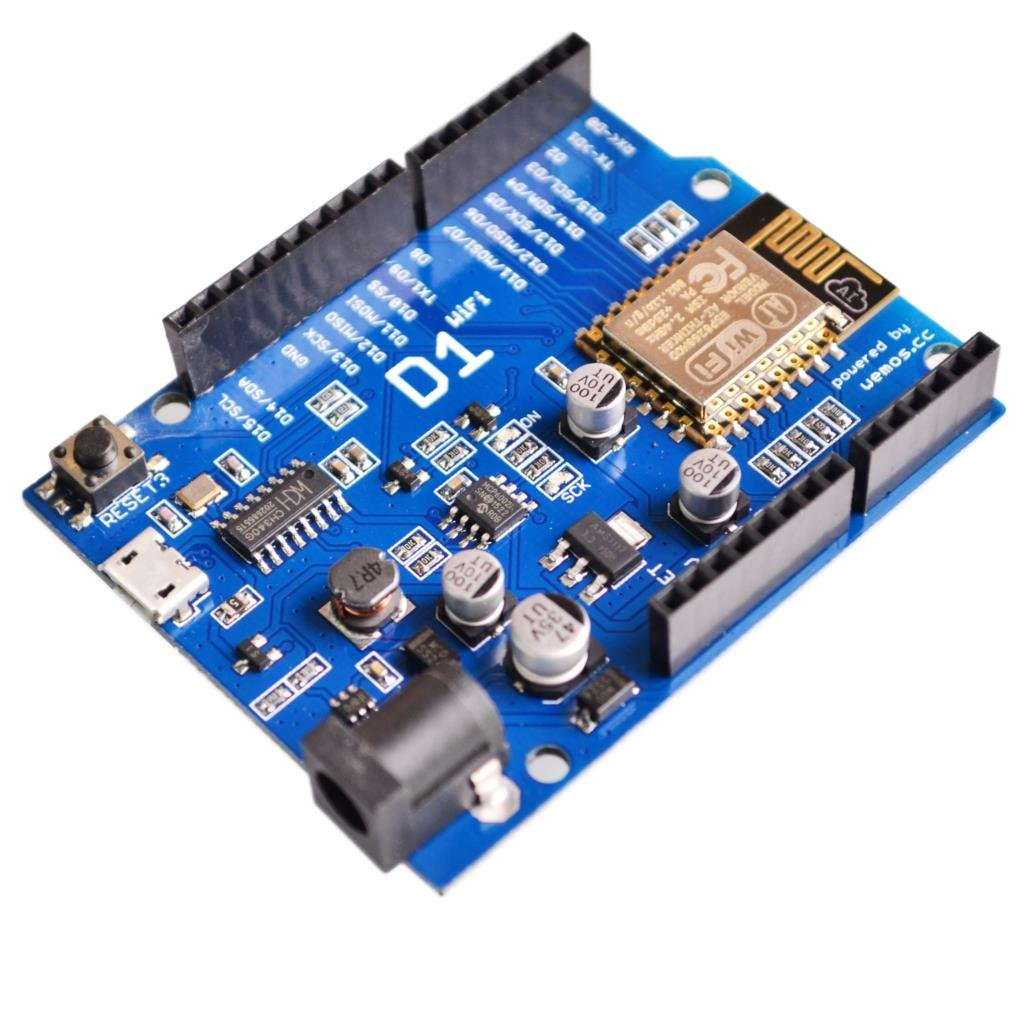 WeMos D1 UNO R3 CH340 Wi-Fi ESP8266 ESP-12E Development Board pour Arduino