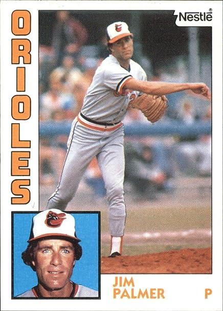 1984 Nestle 792 750 Jim Palmer Baseball Card