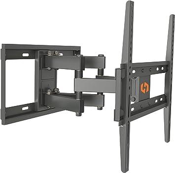 Husky Mounts movimiento completo soporte de pared para televisor para la mayoría de 32 – 55 pulgadas