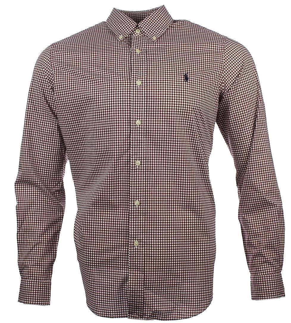 Ralph Lauren Shirt Navy Blue Poplin Classic Fit