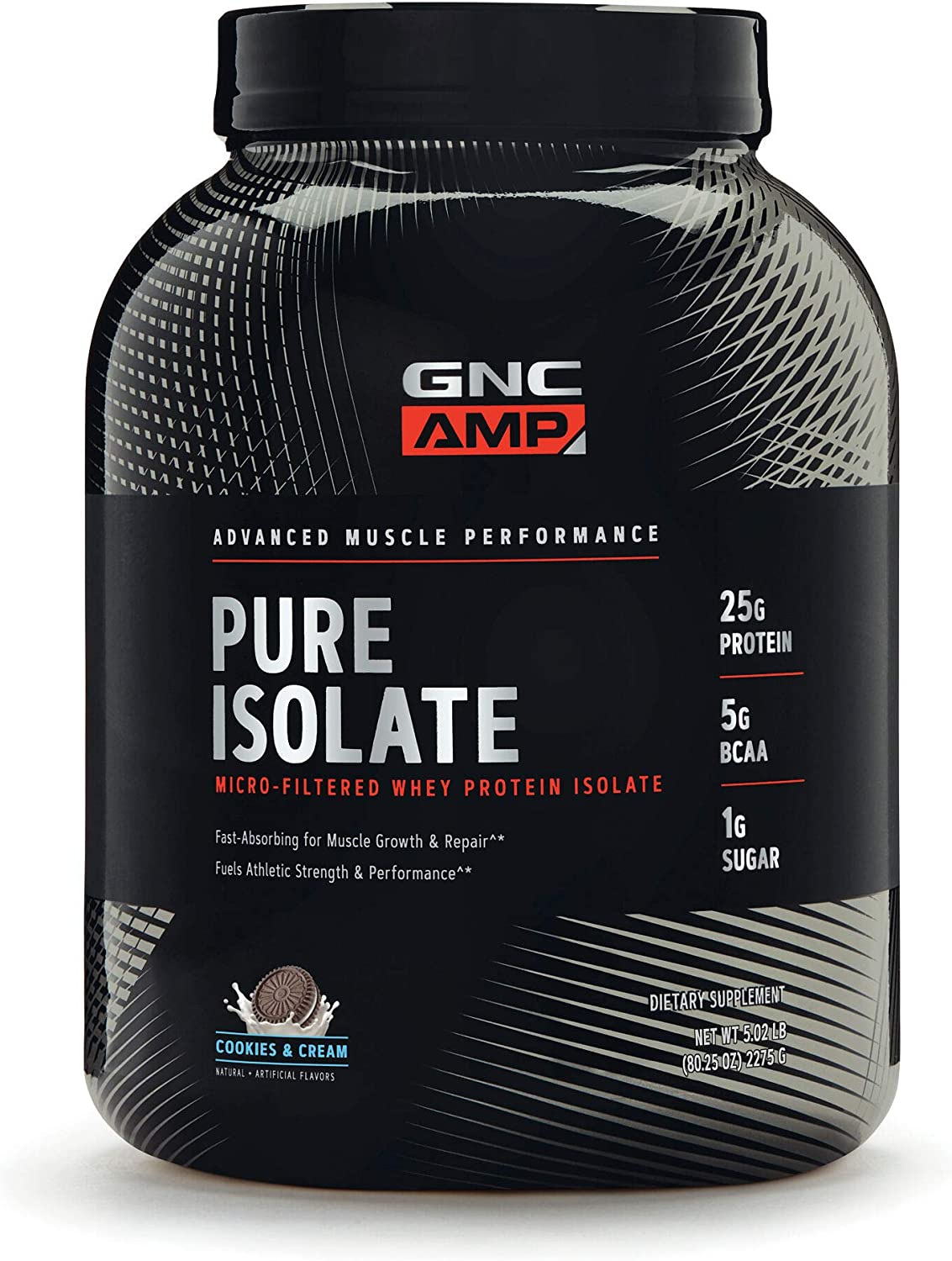 GNC AMP Pure Isolate – Cookies and Cream