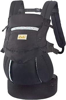 Labi Premium Cotton Baby Carrier with Adjustable Bucket Seat