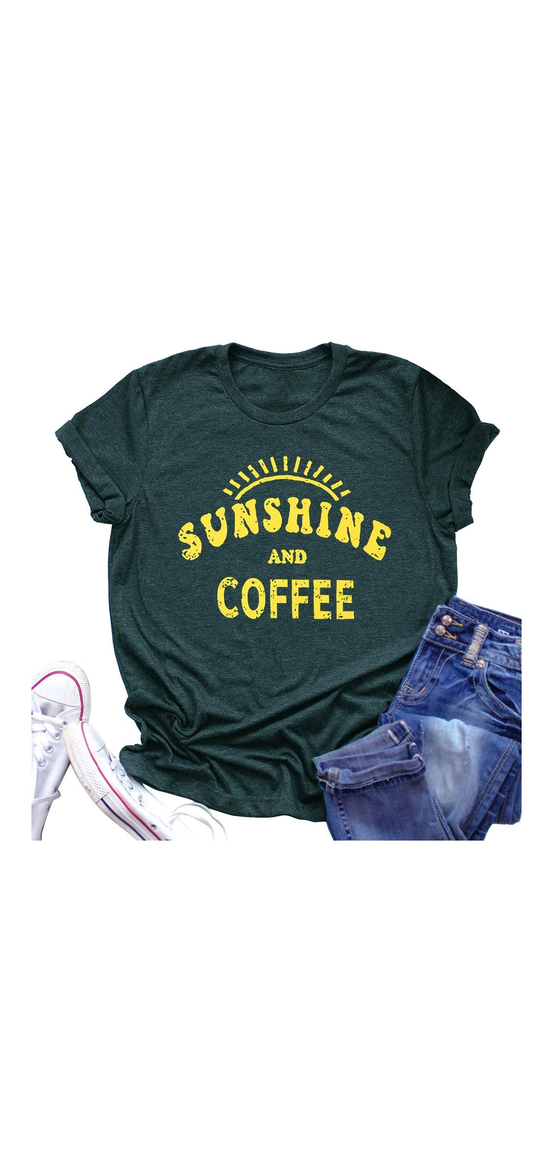 Sunshine Tshirts Funny Summer Graphic Tee Shirts For Women Print