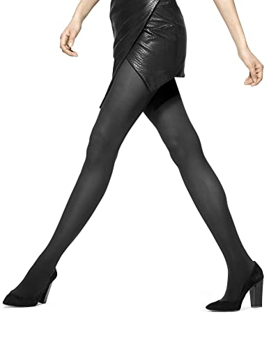2eaec8a3761fb HUE Women's Opaque Control Top Tight at Amazon Women's Clothing ...