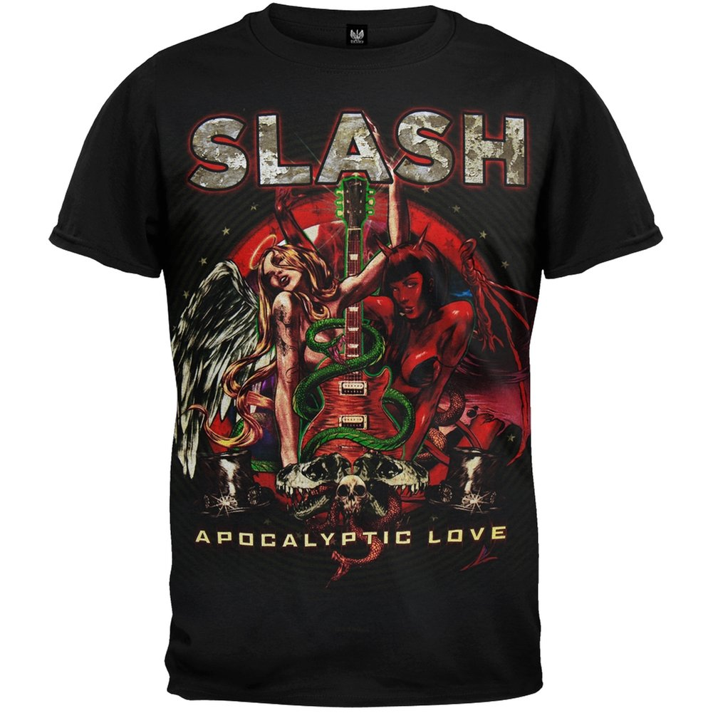Slash - Snake Guitar Apocalyptic Love Tour T-Shirt - Small