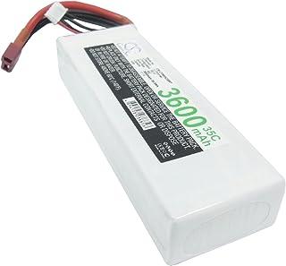 Cameron Sino–Batteria 3600mAh Compatibile con RC cs-lp3603C35rt