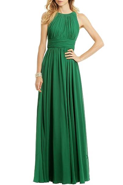 Ssyiz Elegante Plisado Gala Chiffón Mujer de Noche de Vestido(Privado personalizado) (46