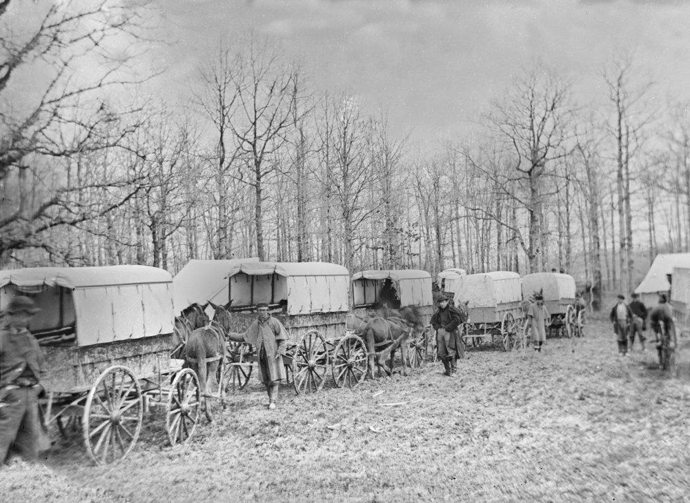 ワシントンDC – 救急で電車Harewood病院Civil War写真 36 x 54 Giclee Print LANT-20968-36x54 B01MG3MXT5  36 x 54 Giclee Print