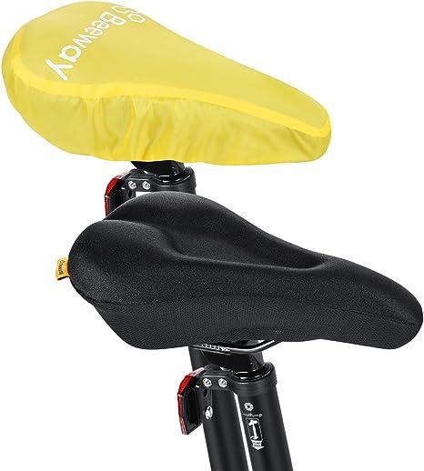 BEEWAY® Fundas Para Sillín de bicicleta, más cómodo suave cojín de ...
