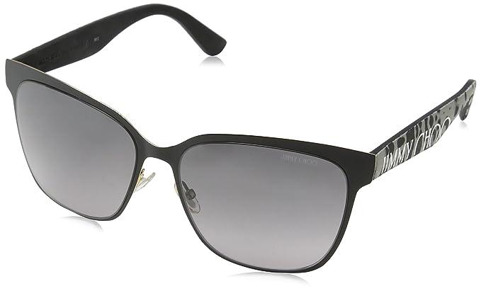 Jimmy Choo Gafas de Sol KEIRA/S EU FP3 57 (57 mm) Negro ...