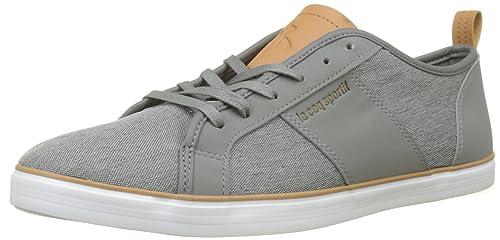 Le COQ Sportif Carcans Craft Grey Denim/Brown Sugar, Zapatillas para Hombre: Amazon.es: Zapatos y complementos