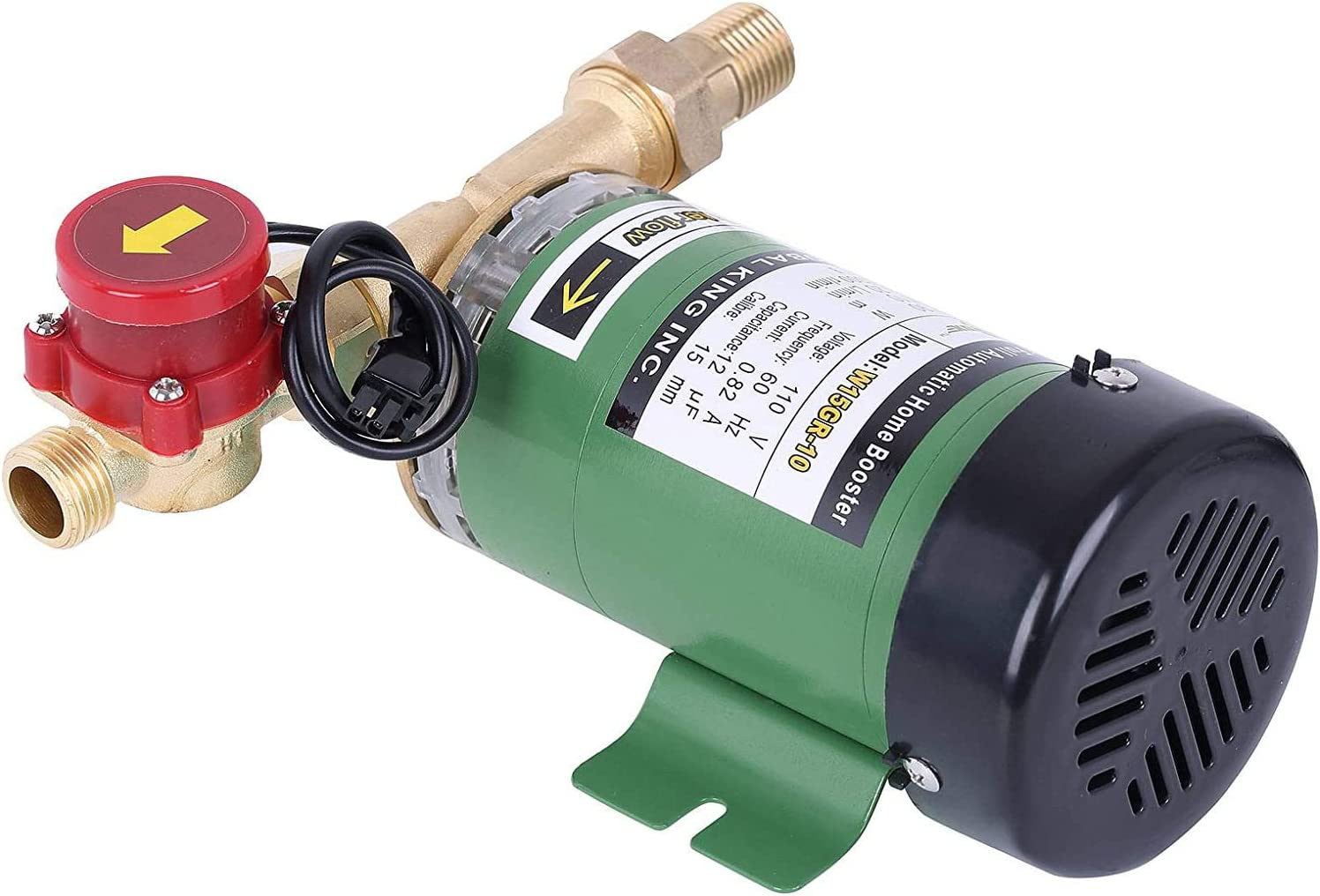 90W Water Pressure Booster Home Shower Booster Pump Automatic Stainless Steel